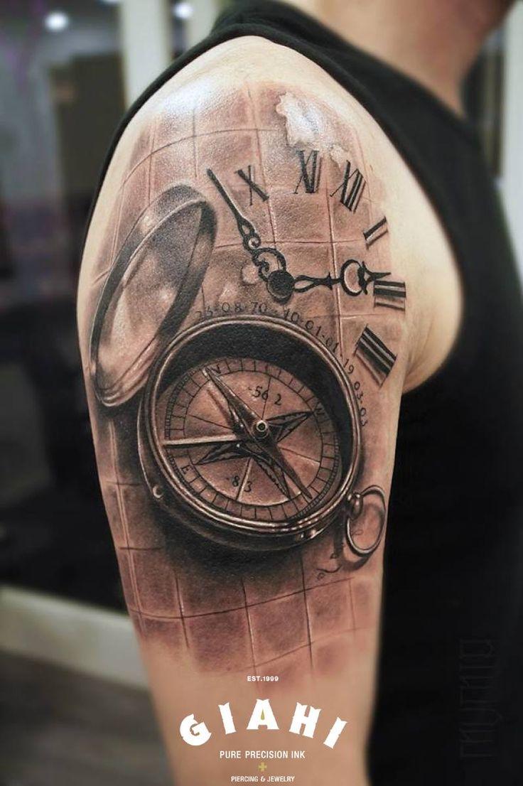 Taschenuhr tattoo  Die 25+ besten Taschenuhr Tattoos Ideen auf Pinterest | Uhr Tattoo ...