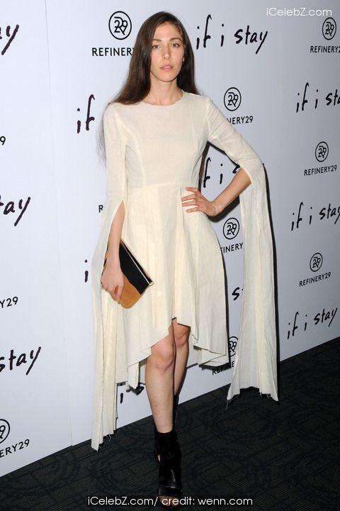 Caroline Polachek New York screening of 'If I Stay' - Red Carpet http://icelebz.com/events/new_york_screening_of_if_i_stay_-_red_carpet/photo1.html