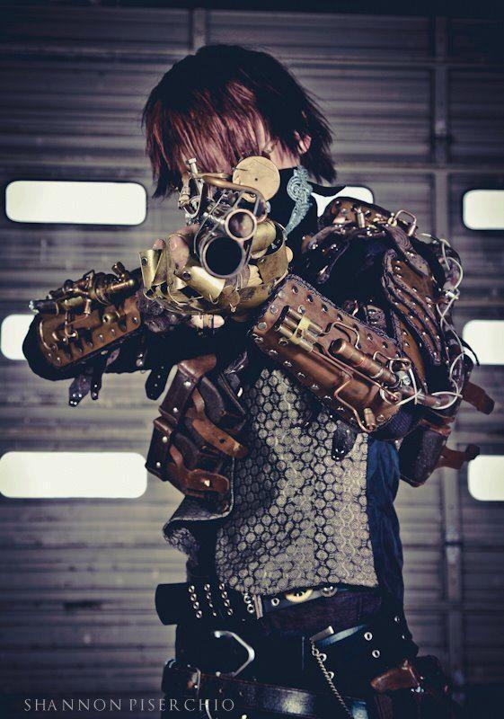 Steampunk, armor, Combat Tesla Armor Mk II by TheEdmondSteamworks