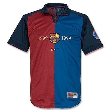 Camiseta del Centenario del Barcelona 1999