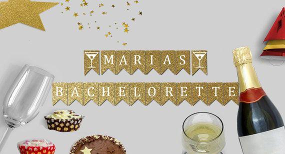 Bachelorette bannière / Bachelorette bannière party / fête / baccalauréat en partie Decor / cadeau pour elle / Bash bannière / mariage bannière / Party Decor / Parties