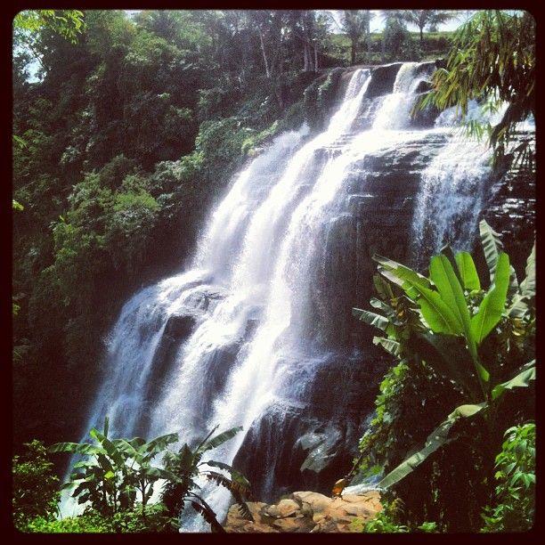 Cigangsa Waterfall, Sukabumi, West Java, Indonesia