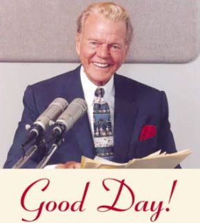 Paul Harvey.....my parents used to listen to his radio show all the time