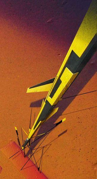 Webster - Droids Webster, tecnica mista, Conegliano (TV), 2009, particolare