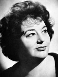 Hattie Jacques (1922 –1980), born as Josephine Edwina Jaques, she was an English comedy actress. Starred in the Carry On films and had a 'battle-axe' persona.