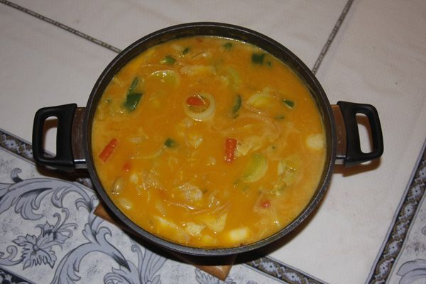 Haitian Freedom Pumpkin Soup: had this while in Haiti this past week and it was one of my favorite meals while there. I think I may have to try to make it soon.
