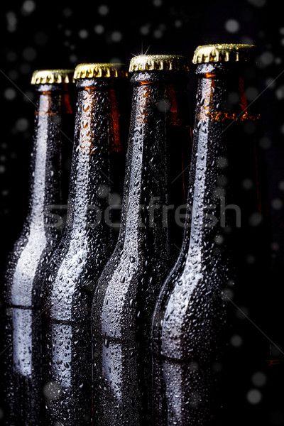 Bottles of beer stock photo (c) grafvision (#4611916) | Stockfresh
