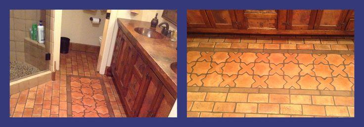 Best Saltillo Tile Care in Phoenix, Az   Presealed Saltillo Tile