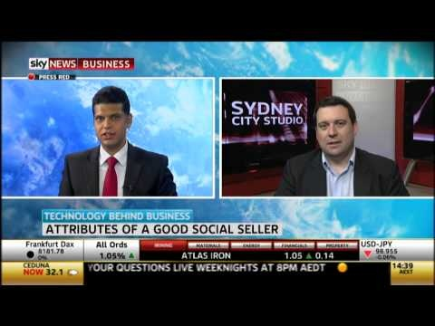Sky Business interviews Tom Skotidas on the growing phenomenon of Social Selling and how it is enabling B2B marketers and sales professionals to build brand, grow demand, and generate leads.