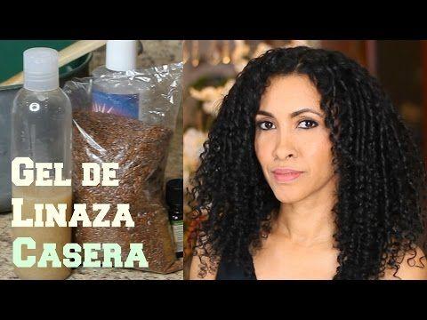 Gel de Linaza Hecha en Casa para el cabello - YouTube