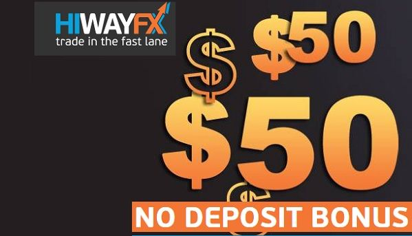 50$ No Deposit Bonus from HiWayFX – EU