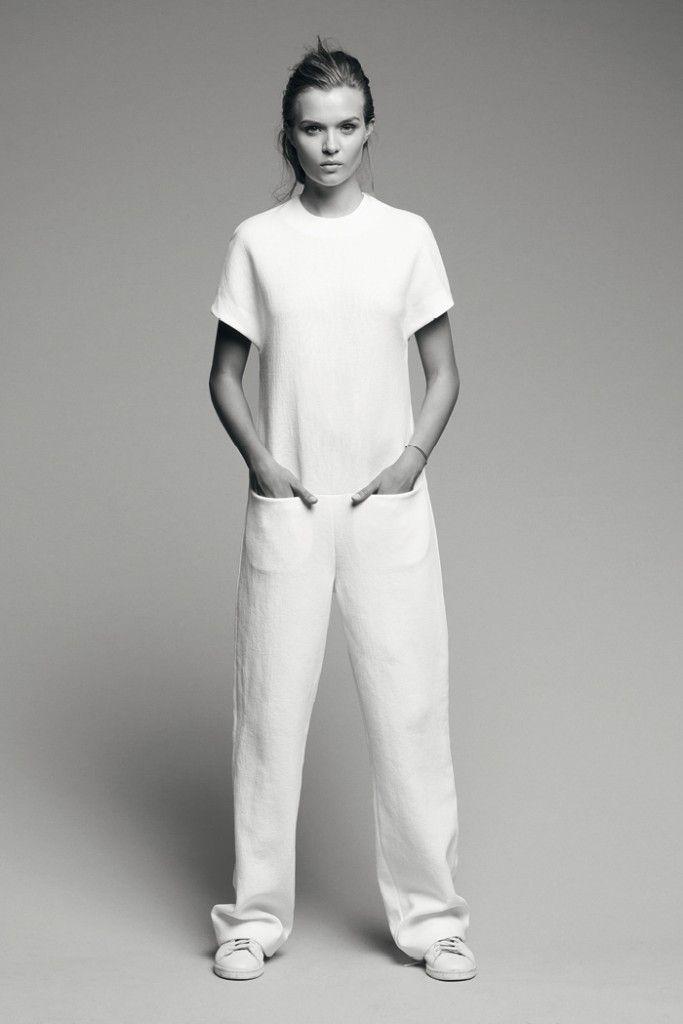 Pocket-front Jumpsuit - simplicity, minimalist fashion // Boulezar SS15