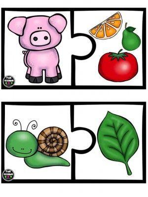 Puzle animales vs alimento (8)
