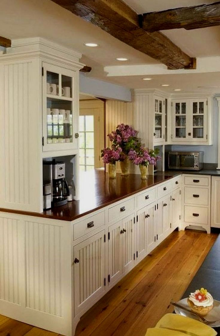Kitchen Cupboard Lighting Ideas And Pics Of Peeling Paint Kitchen Cabinets Country Cottage Kitchen Traditional White Kitchen Cabinets White Kitchen Traditional