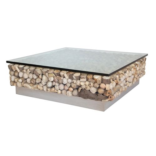 coffee table uniqwa driftwood lux
