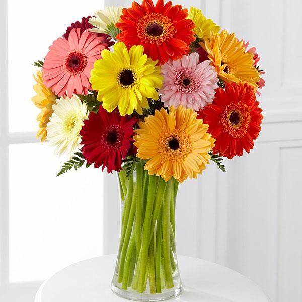 34. Kytica kvetov Gerbera mix