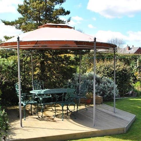 Thanks To Margaret For This Photo Of Her Camelot Regency Gazebo With Its