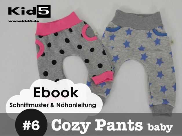 #6 Cozy-Pants-Baby eBook + Schnittmuster