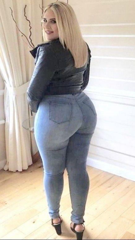 только толстые попы в джинсах меня это было