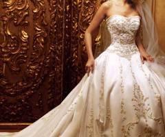 ~: Dresses Wedding, Wedding Dressses, Ball Gowns, Ivory Wedding, Wedding Gowns, The Dress, Bridal Gowns, Dreams Dresses, Gold Wedding