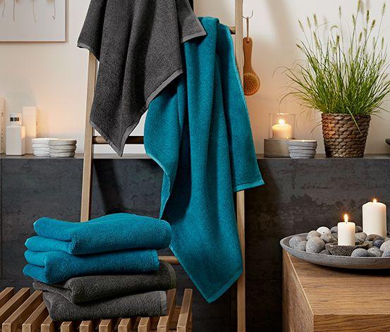 2 Frottier-Handtücher für 12,95€. Mit diesen besonders weichen und saugfähigen Frottier-Handtüchern wird das Abtrocknen zum Vergnügen! Sie sind aus reiner Bio-Baumwolle in hochwertiger Zwirnqualität. Beide Handtücher sind mit einem praktischen Aufhänger versehen.