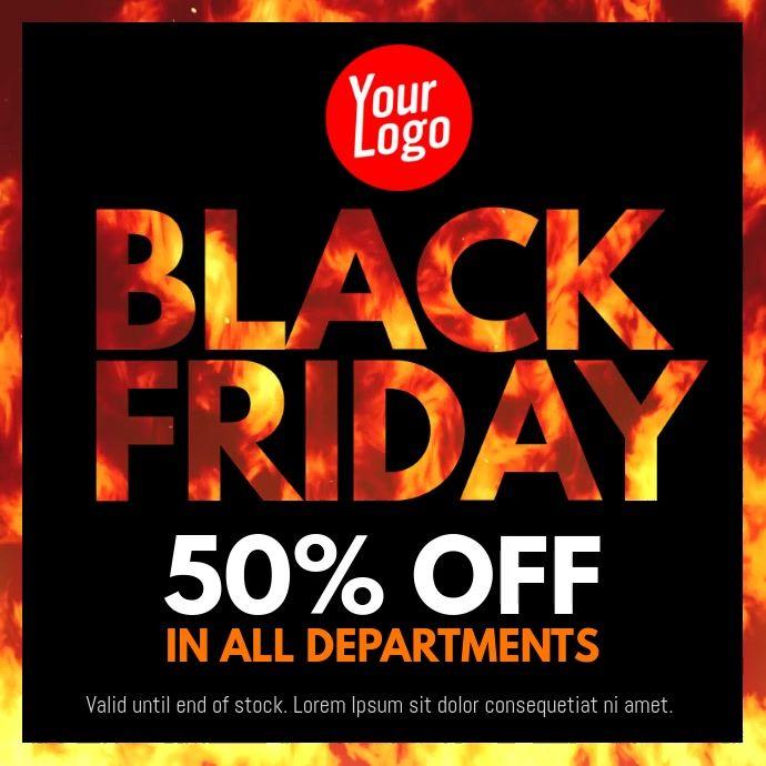 Black Friday Fire Reveal In 2020 Black Friday Flyer Flyer Black Friday