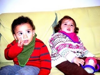 Niño y niña. Boy and girl