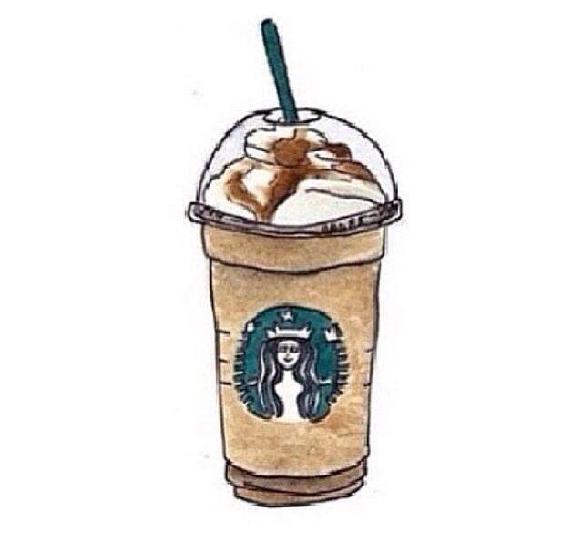 A Starbucks tumblr transparent! Yum!