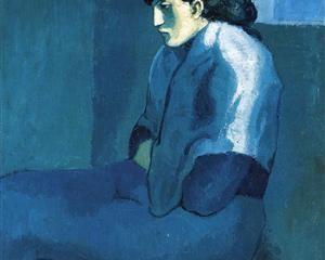 Melancholy woman - Pablo Picasso