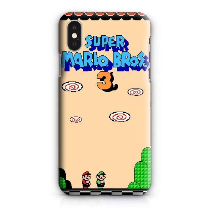 Super Mario Bross 3 For Iphone Xs 3d Case Casepearl