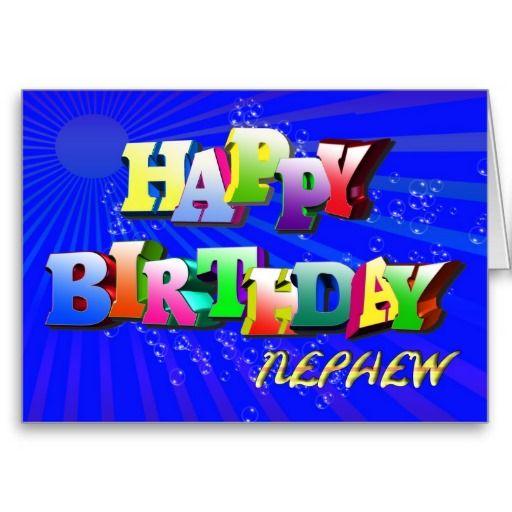 31 Best Happy Birthday Nephew Images On Pinterest