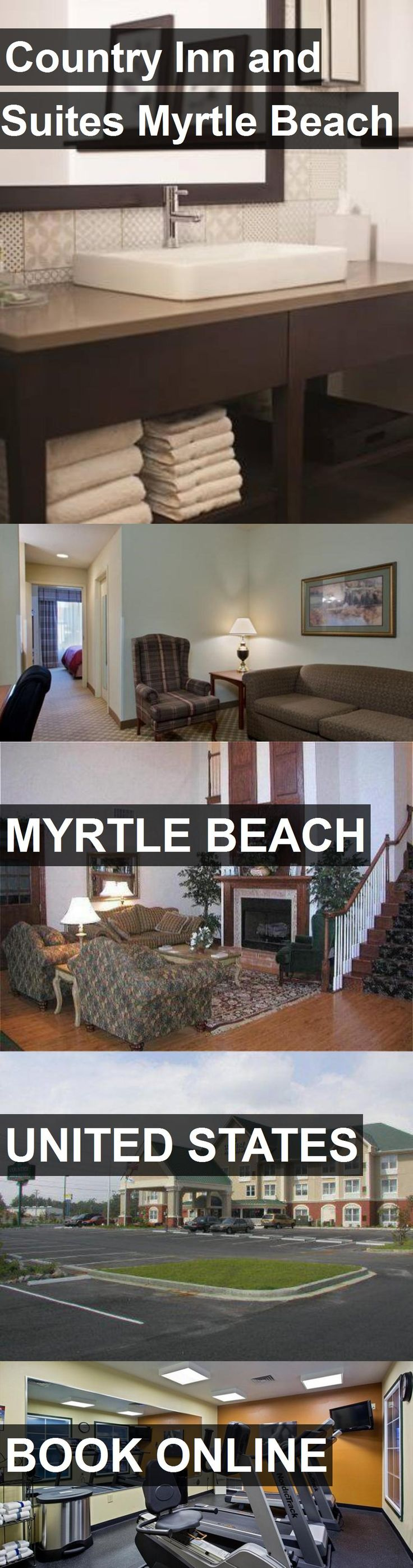 Hotel Country Inn and Suites Myrtle Beach in Myrtle Beach, United States. For more information, photos, reviews and best prices please follow the link. #UnitedStates #MyrtleBeach #travel #vacation #hotel