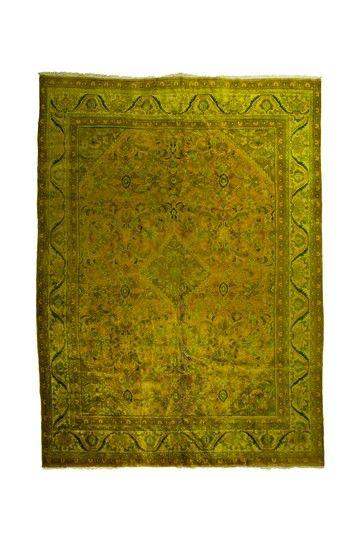 Vintage Over-Dyed Rug