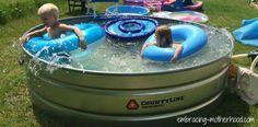 Best 25 stock tank pool ideas on pinterest stock tank diy pool and redneck pool - Outdoor decoratie zwembad ...