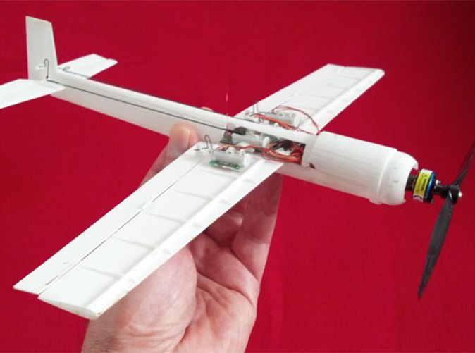 Check out Blaze Micro RC Hotliner Aerobatic 3D Plane by tomrust on Shapeways and discover more 3D printed products in Desk Toys.