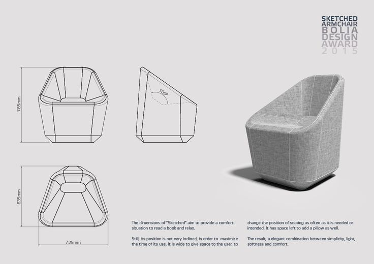 2015 Sketched Chair on Behance