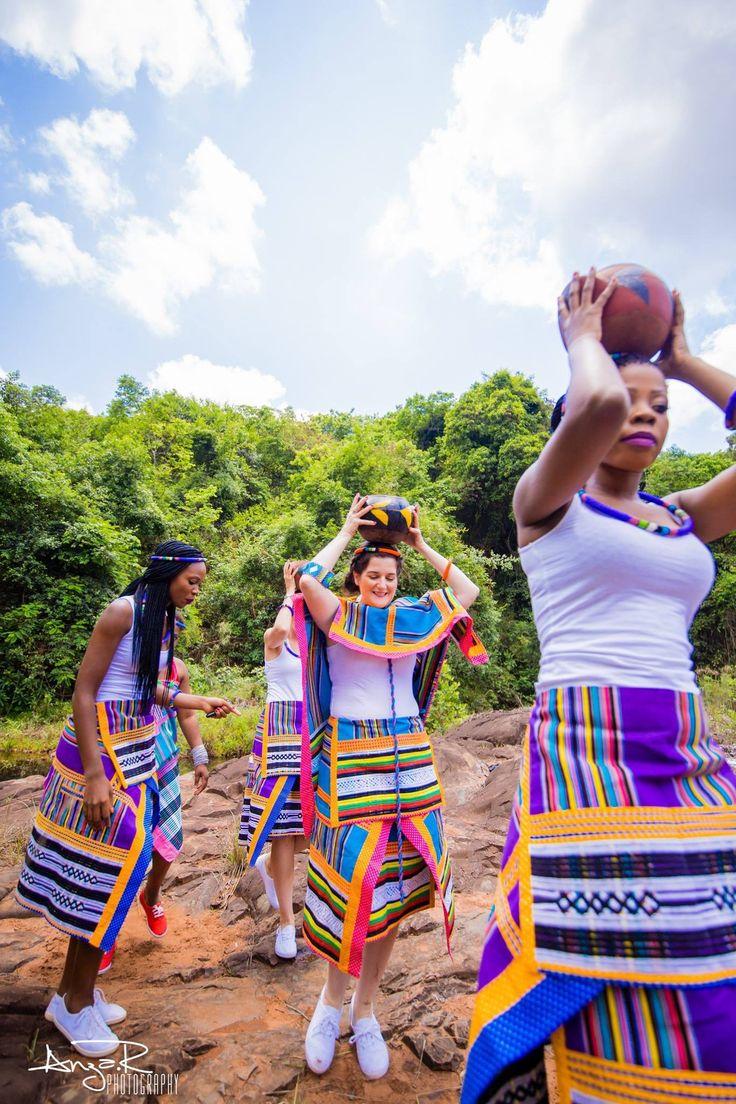 Venda wedding, Venda attire, traditional wear, South Africa, african print