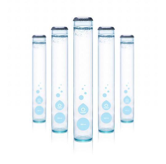 Ô Water bottles. Designed by Axygene.