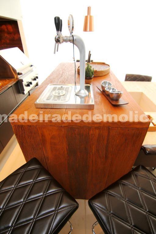 Tampo de Madeira de Demolição - www.madeiradedemolicao.com