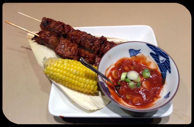 Peruvian Beef Tenderloin Skewers - Anticucho de Lomo Fino