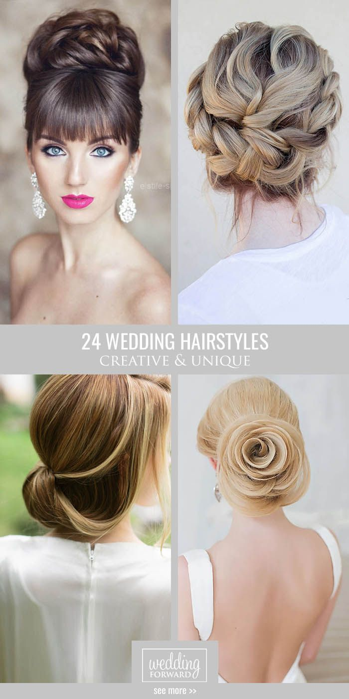 101 best wedding hair styles images on Pinterest | Bridal hairstyles ...