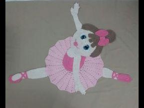 ArtêDaLê Crochet Video Class Ballerina Step by Step – Parte 1 – Você …   – crochê bebê