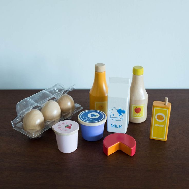 Healthy Basics Play Food Set