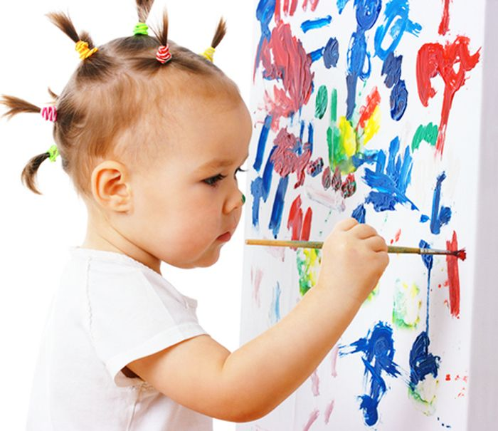 Arts heavy preschool helps children grow emotionally new for Children arts and craft