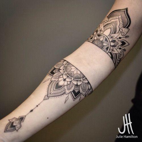 Arm tattoo by Julie Hamilton