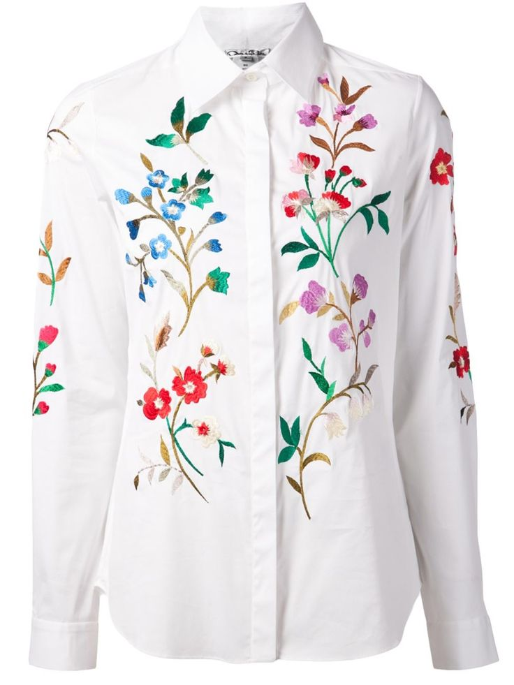 White Long Sleeve Shirt Women