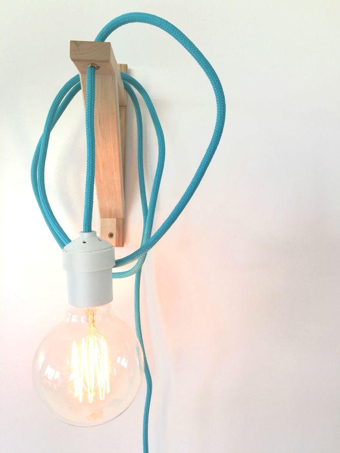 Tutorial lampara colgante de pared iluminaci n luces y for Lampara globo ikea