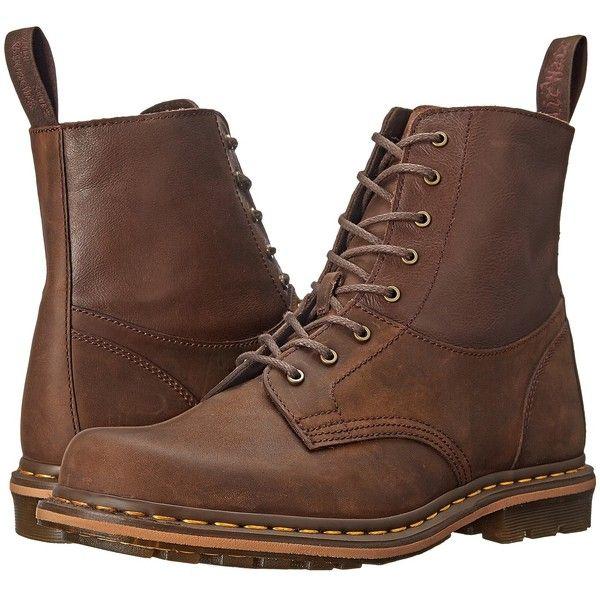 Dr. Martens Tristan (Gaucho/Dark Brown Crazyhorse/Mirage) Men's Shoes ($120) ❤