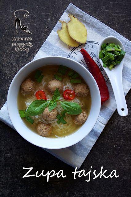 Kulinarne przygody Gatity: Tajska zupa z ryżem