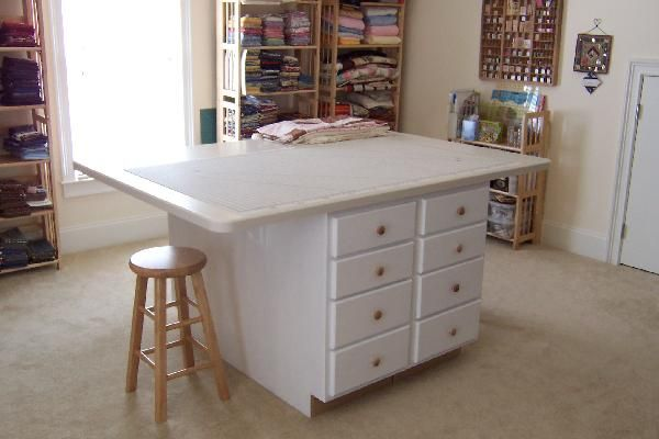 Best 25 Cutting Tables Ideas On Pinterest Sewing Tables Quilting Room And Spaces